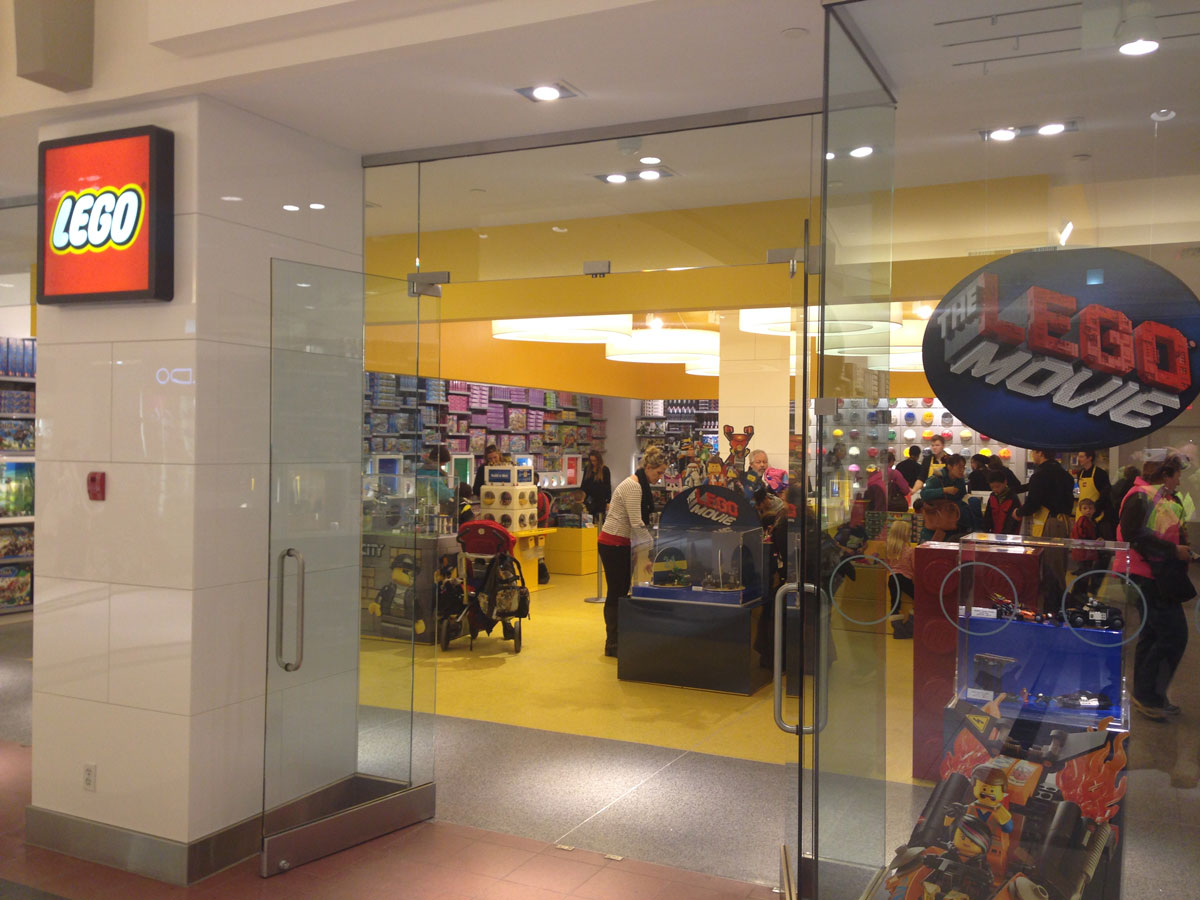 Lego store in south gate mall edmonton